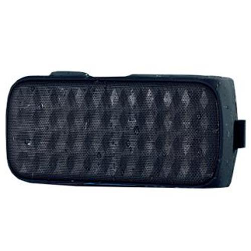 ZeroLine SmartSound Dust - Altoparlante/POWER BANK - per uso portatile - BLUETOOTH wireless - 6 Watt - nero