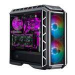 "COOLER MASTER Case MasterCase H500P Mesh ARGB,2USB3,Audio I&O,2x2.5""/3.5"" 2x2.5"",2x 200mm ARGB Front Fans 140mm Rear Fan,Radiator Supp.,NO PSU"